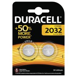 Duracell 2032 Batteries, 2pk