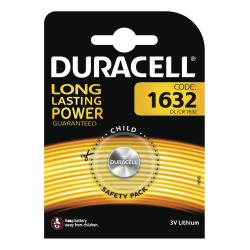 Duracell DL/CR 1632 litium knappcellsbatteri, 1 st