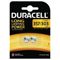 Duracell Electronics D357/303 Batteries, 2pk