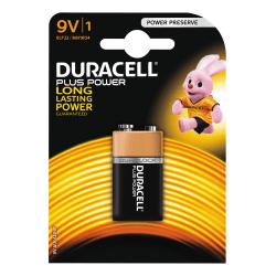 Duracell Plus Power 9V Battery, 1pk