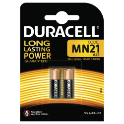 Duracell Security MN21 Batteries, 2pk