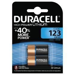 Duracell Ultra Photo 123 Batteries, 2pk