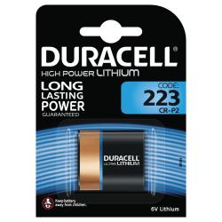 Duracell Ultra Photo 223 Battery, 1pk