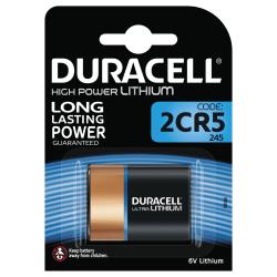Duracell Ultra Photo 2CR5 (245) Battery, 1pk