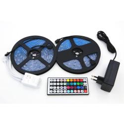 Färgskiftande LED-ljusslinga 300 RGB-lampor (10 m)