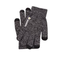 Fingervantar med touch och antislip Grå (M)