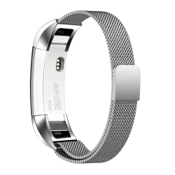 Fitbit Alta/HR armband Milanesisk Loop Silver (S) Silver