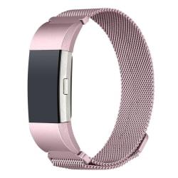 Fitbit Charge 2 armband Milanesisk Loop Rosépink (S) Rosepink