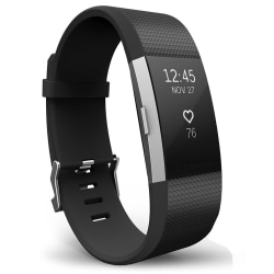 Fitbit Charge 2 armband Svart (S)