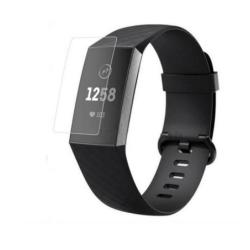 Fitbit Charge 3 skärmskydd TPU - vattentåligt - 5pack Transparent