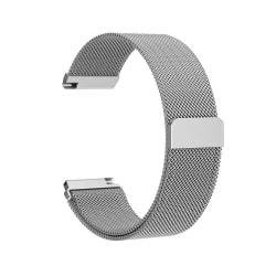 Fitbit Versa armband Milanesisk Loop Silver (S)