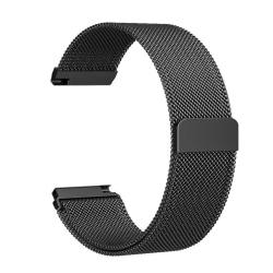 Fitbit Versa armband Milanesisk loop Svart (S) Svart