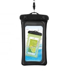 Flytande vattentät mobilväska Universal Svart