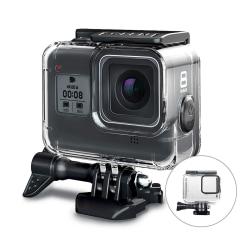 GoPro Hero 8 Black skydd/skal vattentätt IP68 Transparent