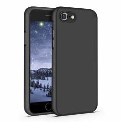 iPhone 7/8/SE extra stöttåligt skal - svart Svart