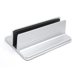 Justerbart vertikalt ställ för laptop - Silver