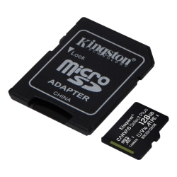 Kingston 128GB micSDXC Canvas Select Plus 100R A1 C10 Card + ADP