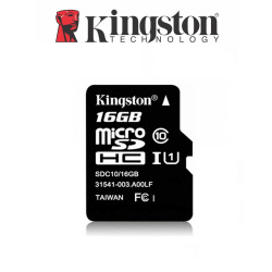 Kingston MicroSDHC kort 16GB klass 10 UHS-1