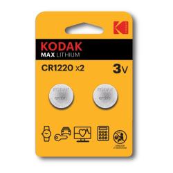 Kodak Max lithium CR1220 battery (2 pack)