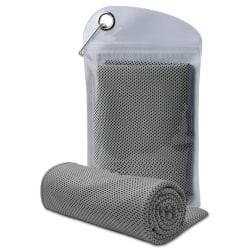 Kylhandduk grå 100 x 30 cm