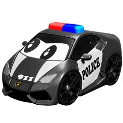 Lamborghini Police Car med Ljud & Ljus 12cm