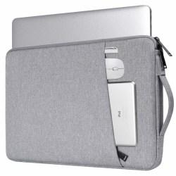 Laptopfodral 14.1 tum canvas - grå