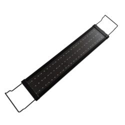 LED akvariumbelysning RGB, 60 cm Svart