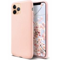Liquid Silicone skal iPhone 11 Pro Max - ljusrosa Rosa