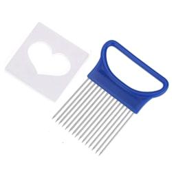 Lökhållare- och skärare Blå
