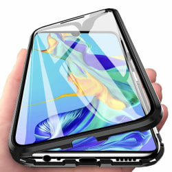 Magnetiskt skal för Huawei P20 Lite med skärmskydd - svart Svart