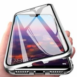 Magnetiskt skal för Huawei P20 med skärmskydd - silver Silver