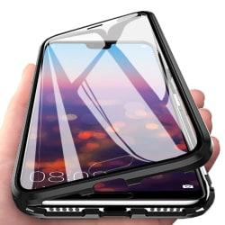 Magnetiskt skal för Huawei P20 Pro med skärmskydd - svart Svart