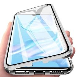 Magnetiskt skal för Huawei P30 Pro med skärmskydd - silver Silver