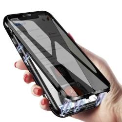Magnetiskt skal för Samsung Galaxy S10 Plus - svart Svart