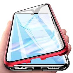 Magnetiskt skal Samsung Galaxy A10 med skärmskydd - röd Röd