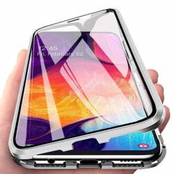 Magnetiskt skal Samsung Galaxy A50 med skärmskydd - silver Silver