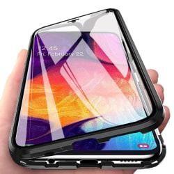Magnetiskt skal Samsung Galaxy A70 med skärmskydd - svart Svart