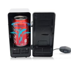Minikyl och värmeskåp 2-i-1 med USB - Svart