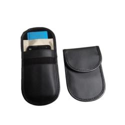 Mobil och bilnyckelväska med RFID signalblockering