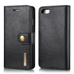 Mobilfodral till iPhone 7/8 - mobilplånbok i PU-läder - svart