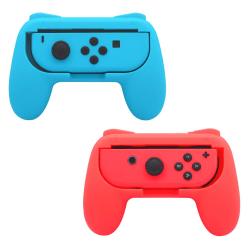 Nintendo Switch Joy-Con Controller Grip 2-pack Röd/Blå
