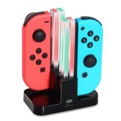 Nintendo Switch Joy-Con laddningsstation för 4 spelkontroller