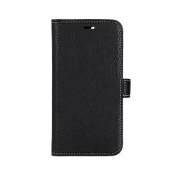 ONSALA COLLECTION Mobilfodral Skinn Svart iPhone 12  / 12 Pro