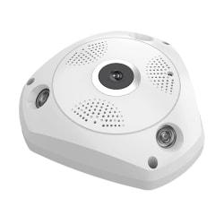 Övervakningskamera 360° vidvinkel Vit
