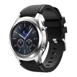 Samsung Gear S3 Frontier/Classic armband - svart Svart