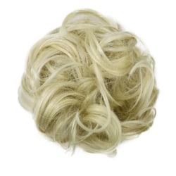 Scrunchie med syntetiskt hår - Blond
