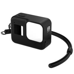 Silikonskal för GoPro Hero 8 Black - svart Svart
