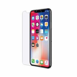 Skärmskydd iPhone X / XS härdat glas 2.5D - transparent Transparent