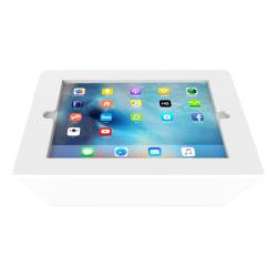 """Skrivbordsstativ för 9,7"""" iPads, 125 lutning, aluminium, vit"""