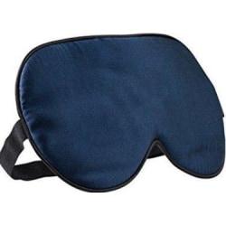 Sovmask - 100% silke - mörkblå